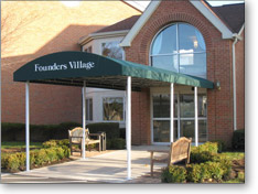 JMT Commercial Awning Installation - Founders Village