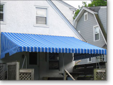 Traditional Patio Awning Installed by JMT Awnings